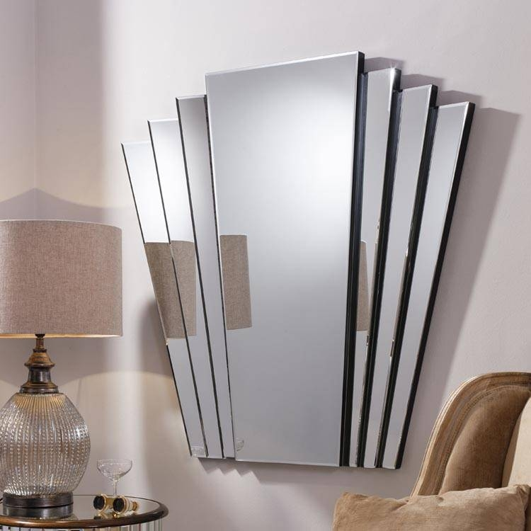 Art Deco Wall Mirror Neat Large Wall Art For Art Wall – Home Intended For Art Deco Wall Mirrors (#7 of 20)