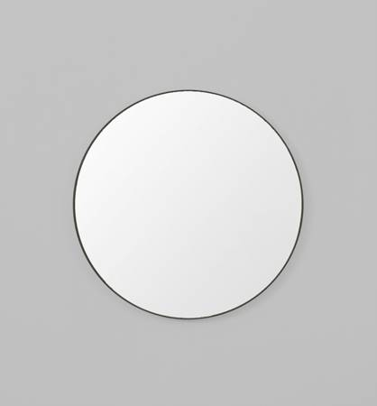 Art & Frame Flynn Round Black Mirror – Art & Frame, Fine Art Pertaining To Black Circle Mirrors (#2 of 20)