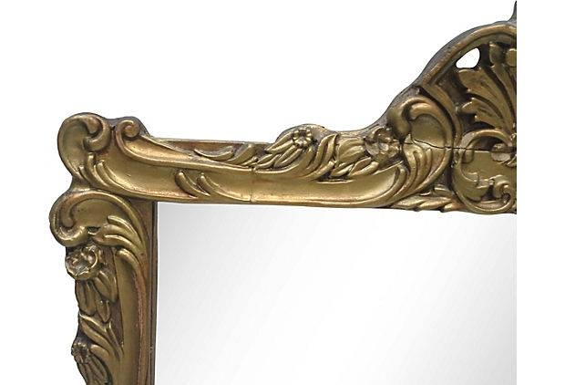 Art Nouveau Wall Mirror – Beckon Gallery Intended For Art Nouveau Wall Mirrors (#10 of 20)