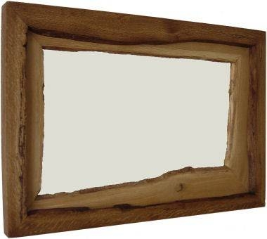 Art Of Wood Rustic Mirror – The Shabby Chic Double – Mirrors In Rustic Oak Mirrors (#2 of 20)