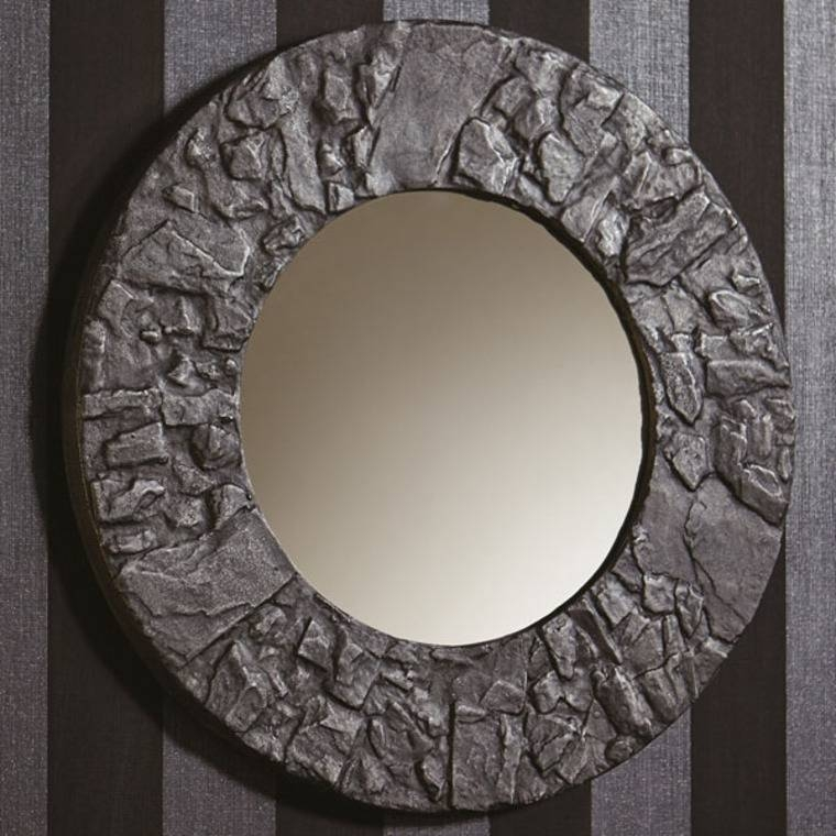 Arthouse Boutique Slate Round Mirror 008275 Arthouse | Select Regarding Boutique Mirrors (View 30 of 30)