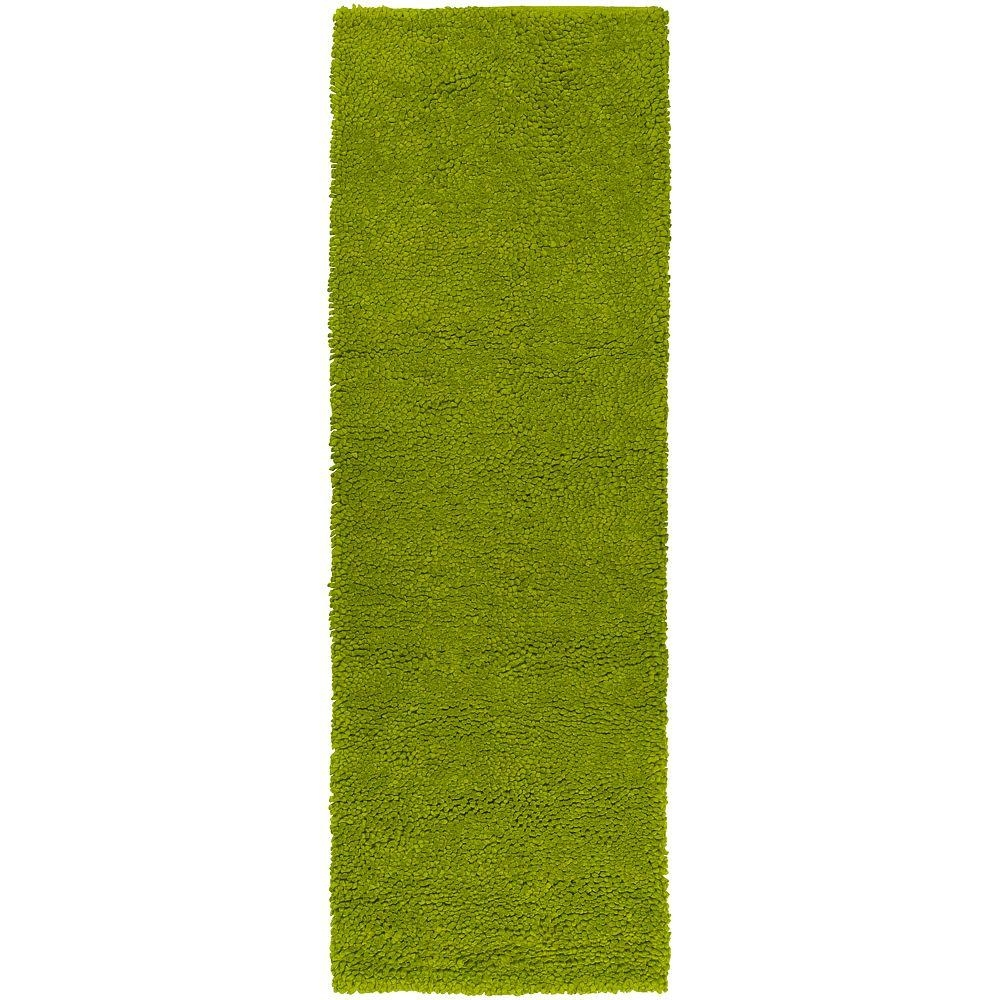 Artistic Weavers Cambridge Lime Green 4 Ft X 10 Ft Rug Runner With Rug Runners Green (#3 of 20)