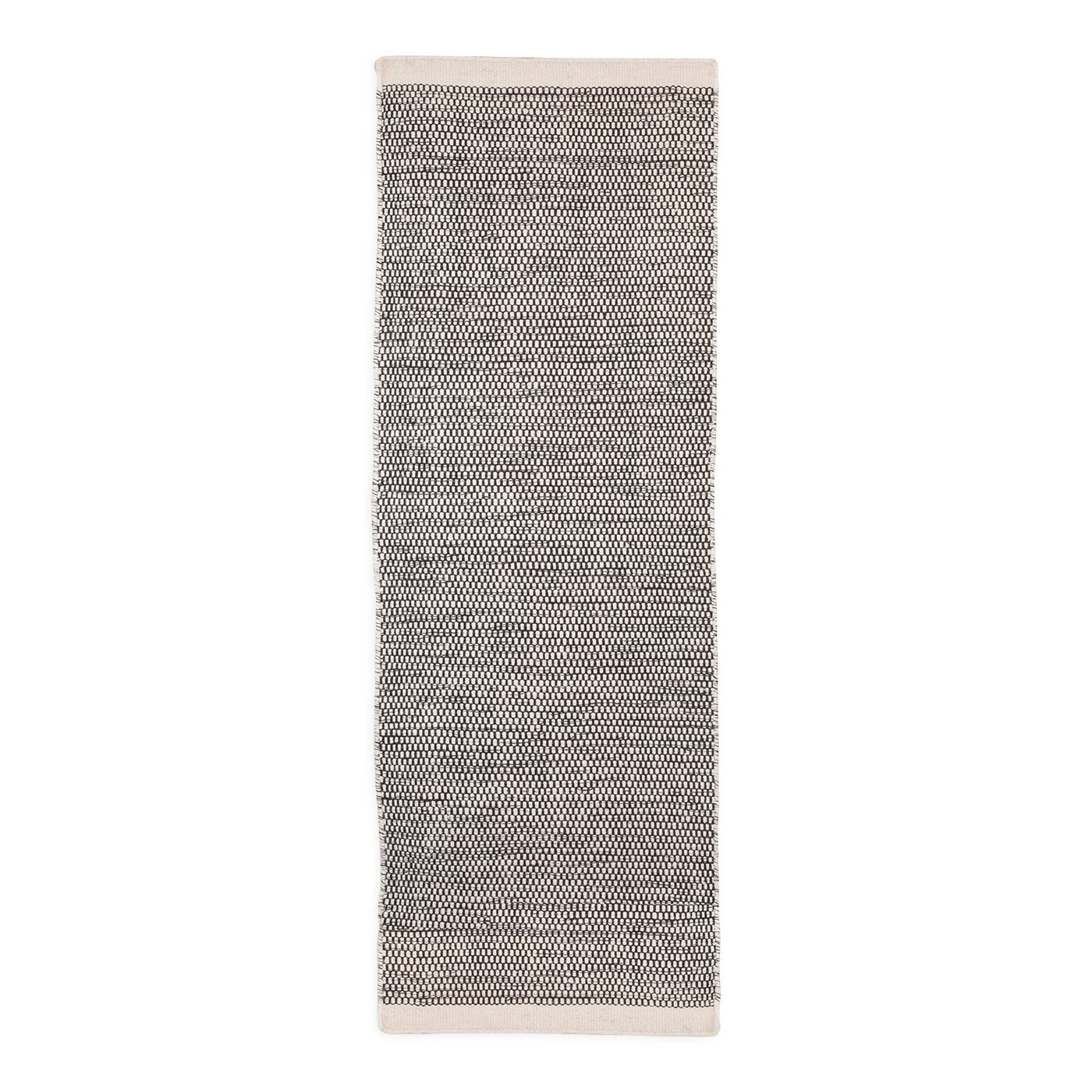 Asko Runner Rug Light Grey Natural Throughout Rug Runners Grey (#1 of 20)
