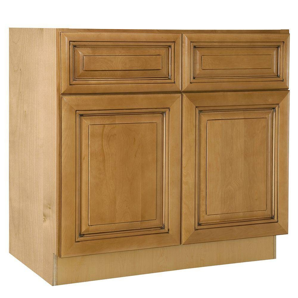 Assembled Kitchen Cabinets – Kitchen Cabinets – The Home Depot Throughout Ready Assembled Sideboards (#2 of 20)
