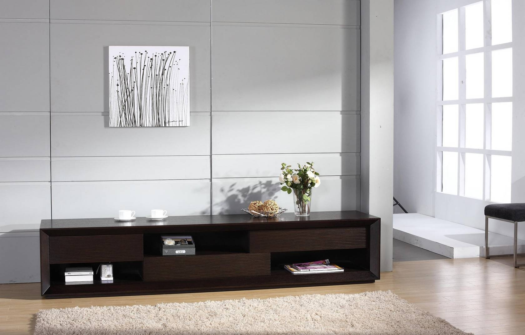 Assym Tv Stand, Beverly Hills Furniture Inc (#3 of 20)