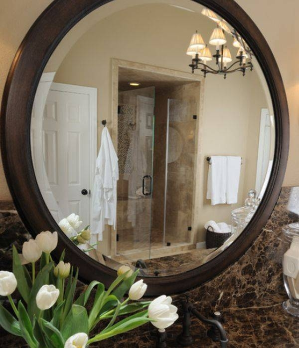 Attractive Large Round Mirrors – In Decors Inside Very Large Round Mirrors (#7 of 30)