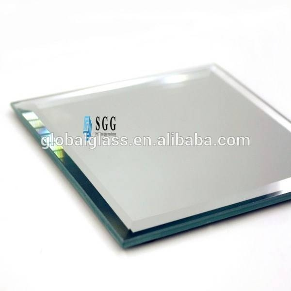 Attractive Square Craft Mirror Beveled Edge Glass – Buy Inside Bevel Edged Mirrors (#2 of 20)