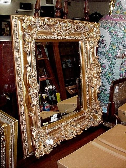 Auction Results Throughout Ornate Gilt Mirrors (#10 of 30)