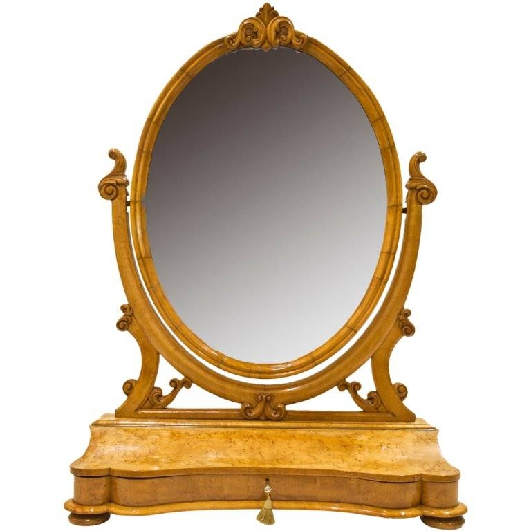 Perfect Austrian Dressing Table Mirror At 1Stdibs Intended For Gold Dressing Table  Mirrors (#7 Of