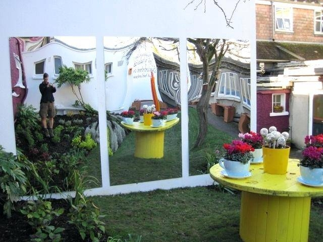 Awesome Outdoor Garden Wall Mirrors Tonyswadenalockeroutdoor Pertaining To Garden Wall Mirrors (#9 of 20)