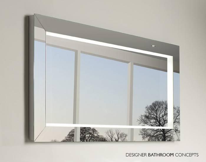 Backlit Bathroom Mirrors | Civilfloor Within Large Illuminated Mirrors (#3 of 30)