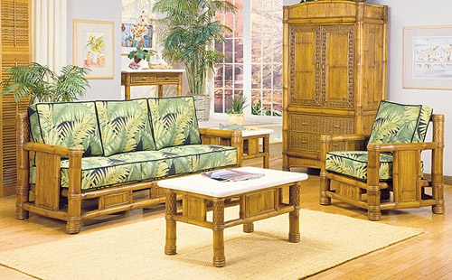 Bamboo Living Room Furniture All Natural Bamboo Furniture Bamboo Regarding Bambo Sofas (View 14 of 15)