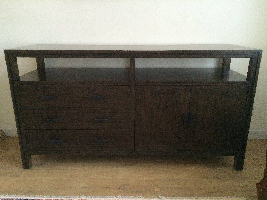 Bamboo (Real Wood) Sideboard From Crate And Barrel | In Kingswells Intended For Real Wood Sideboard (View 19 of 20)