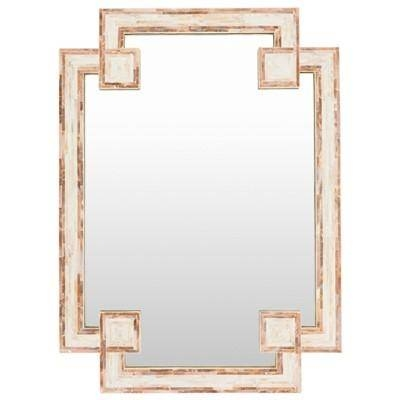 Banks Ivory And Beige Wall Mirror For Mother Of Pearl Wall Mirrors (#12 of 30)