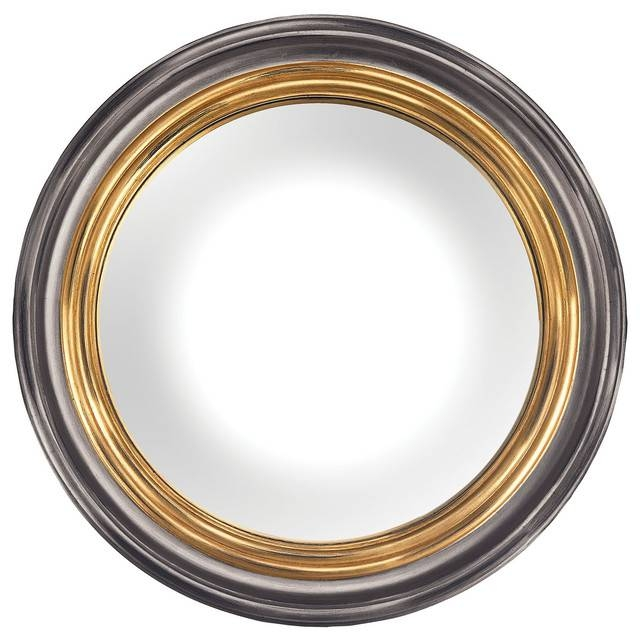 Barcelona Mirrors In Belgian Black – Traditional – Wall Mirrors Within Black And Gold Wall Mirrors (#5 of 20)