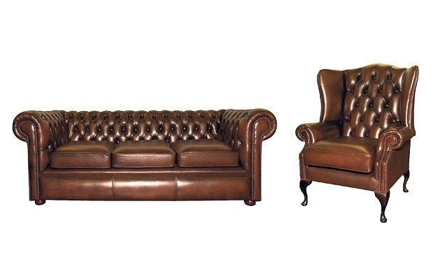 Bargain Hunter Real Leather Furniture Telegraph In Classic English Sofas (#2 of 15)