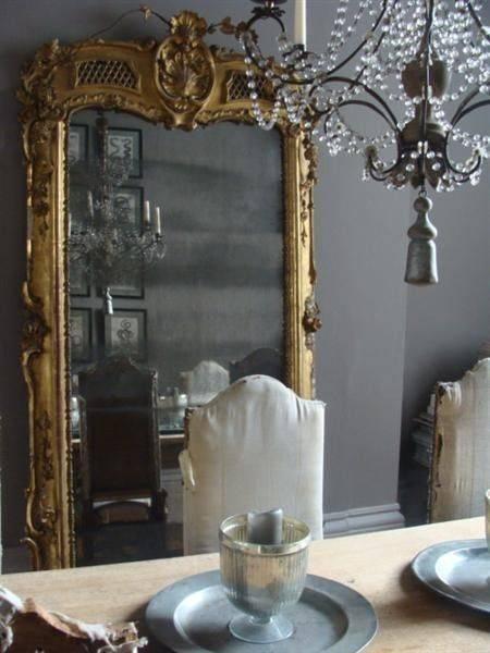 Baroque Floor Mirror Design Ideas Throughout Baroque Floor Mirrors (#9 of 20)