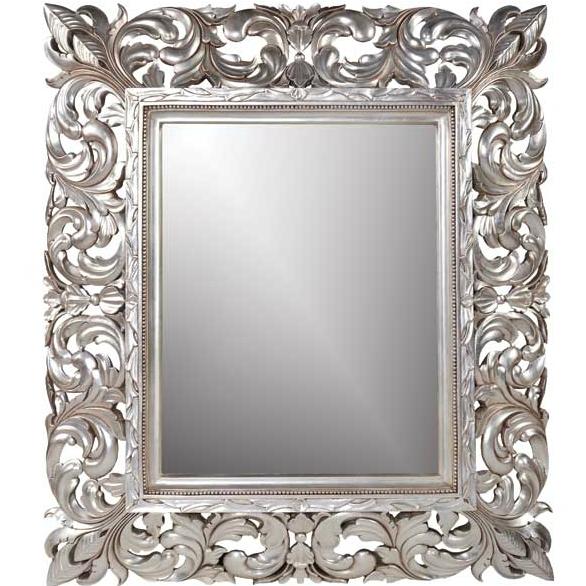 Baroque Mirror – Interior4You In Silver Baroque Mirrors (#7 of 30)
