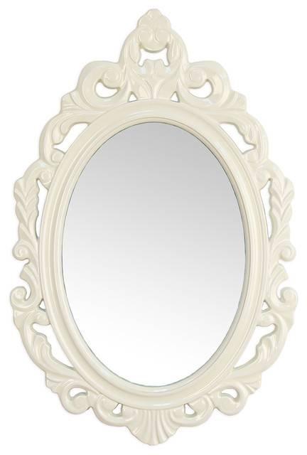 Baroque Mirror – Victorian – Wall Mirrors  Stratton Home Decor Inside White Baroque Mirrors (#6 of 20)