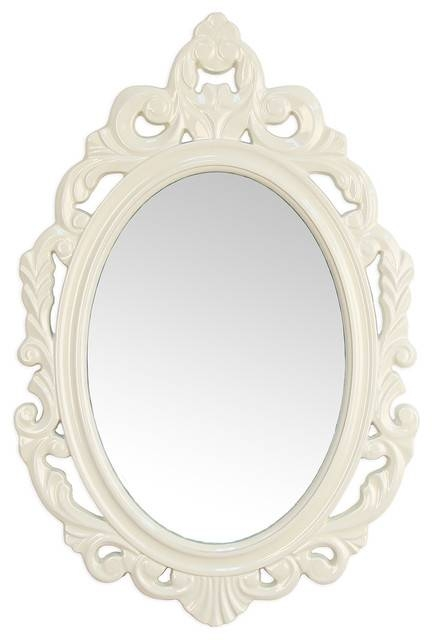 Baroque Mirror – Victorian – Wall Mirrors  Stratton Home Decor Within Baroque White Mirrors (#8 of 20)