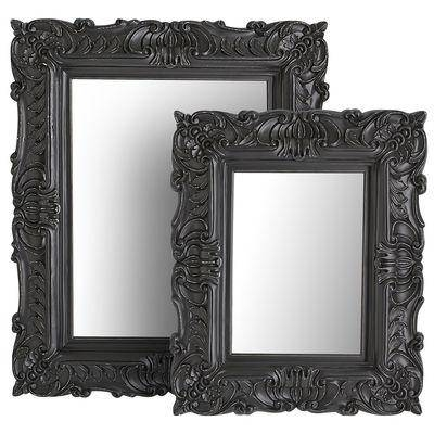 Baroque Mirrors In Black Baroque Mirrors (#8 of 20)