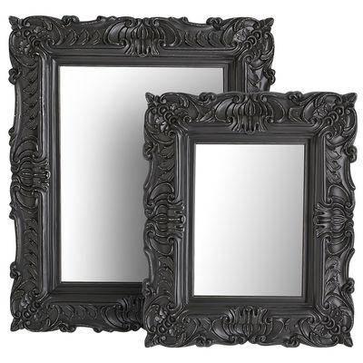 Popular Photo of Black Baroque Mirrors