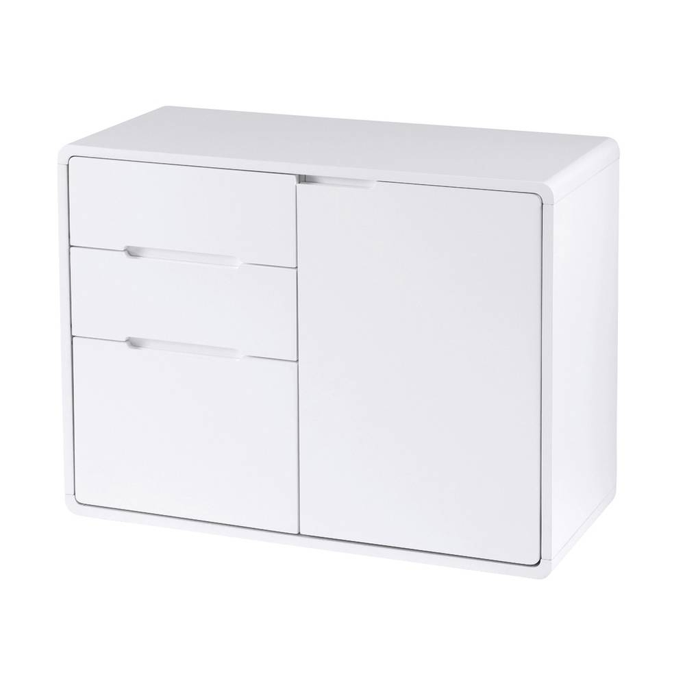 Basel Compact Sideboard White – Dwell In White Sideboards (View 6 of 20)