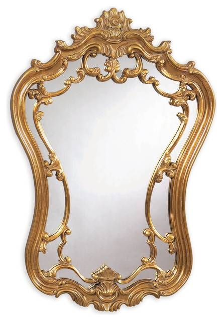 Bassett Mirror Hermosa Wall Mirror M2968Ec – Victorian – Wall Regarding Victorian Mirrors (#8 of 30)