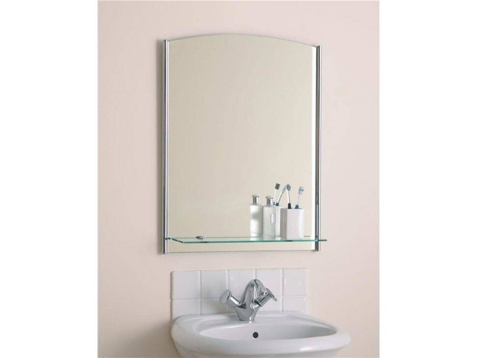 Bathroom : 31 Wonderful Square Frameless Wall Mirror With Small Intended For Large Frameless Mirrors (#2 of 20)