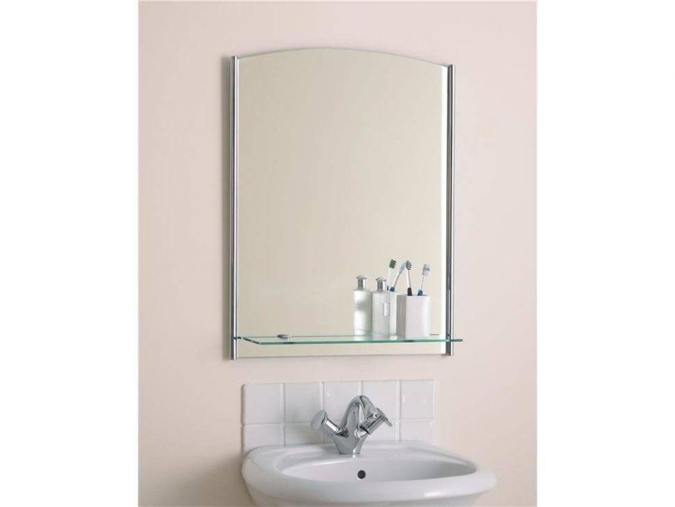 Bathroom : 31 Wonderful Square Frameless Wall Mirror With Small Throughout Square Frameless Mirrors (#4 of 30)