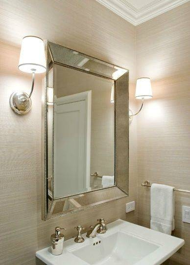 Bathroom Beveled Vanity Mirrors | Navpa2016 With Small Bevelled Mirrors (#5 of 30)