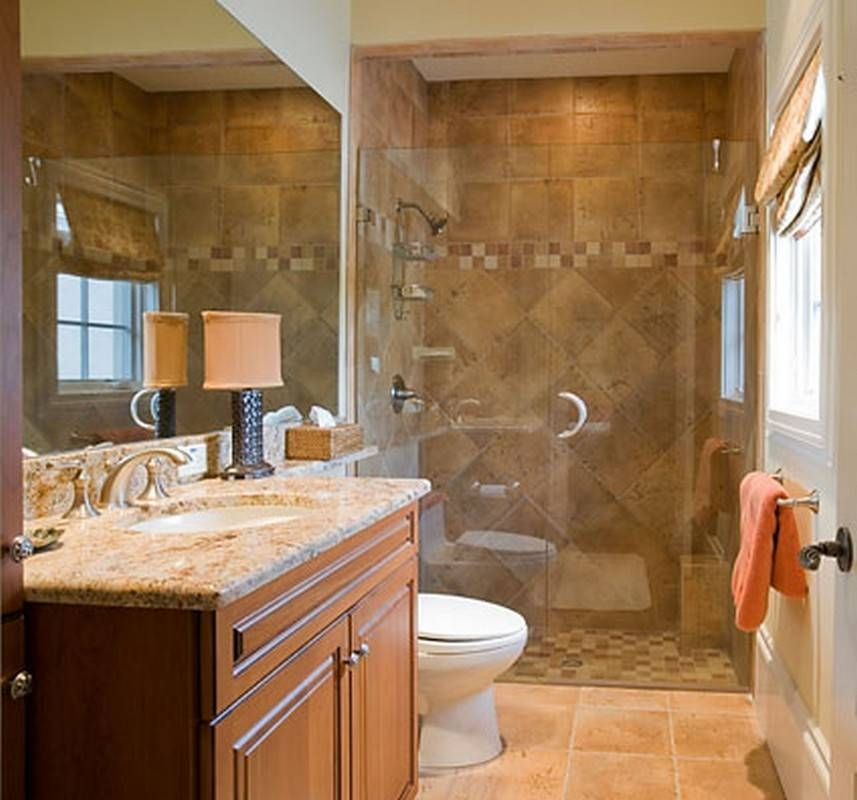 Bathroom Design Using Rectangular Large Frameless Bathroom Mirrors For Large Cream Mirrors (#5 of 30)