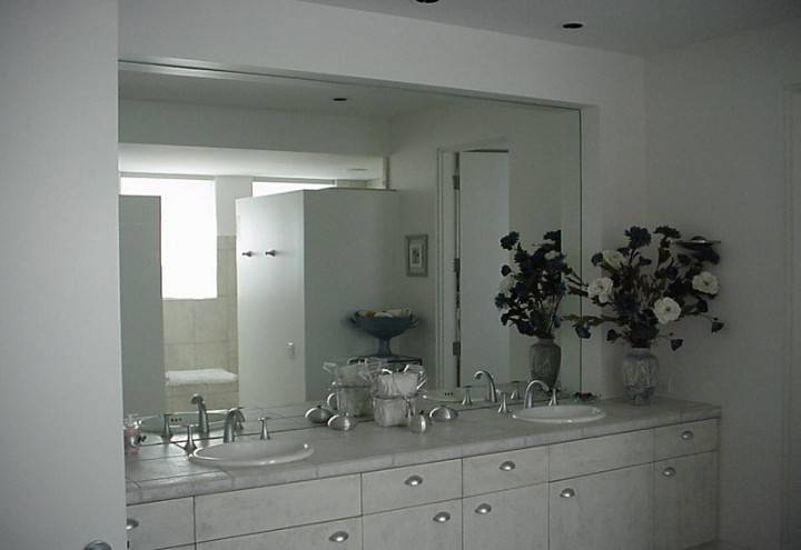 Inspiration about Bathroom Frameless Vanity Mirrors | Navpa2016 Throughout Frameless Large Mirrors (#1 of 20)