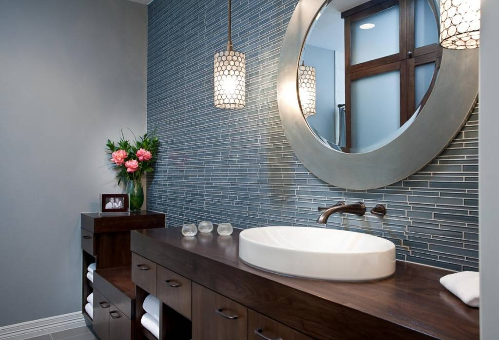 Bathroom Ideas: Take The Great Option Of Home Depot Bathroom Throughout Funky Bathroom Mirrors (#21 of 30)