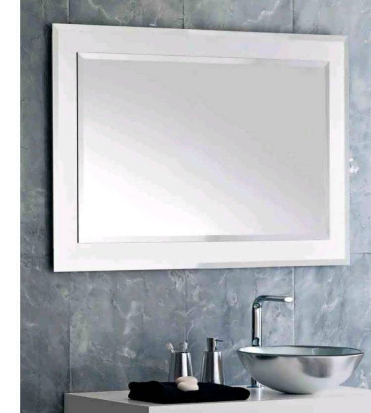 Bathroom : Led Bathroom Mirrors Large Illuminated Bathroom Mirror In Large Illuminated Mirrors (#5 of 30)
