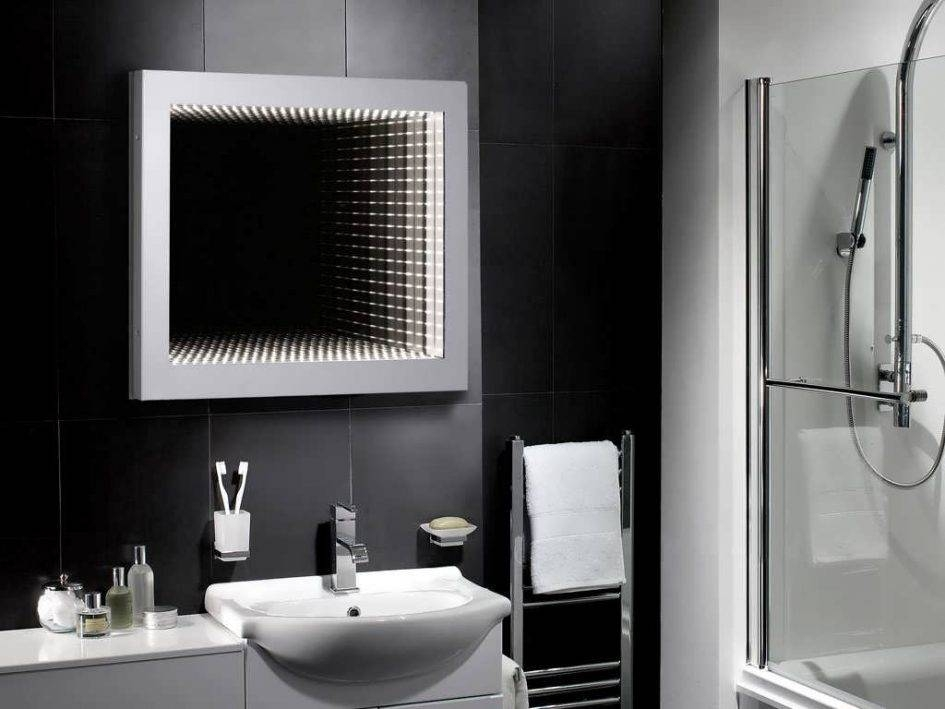 Bathroom : Led Bathroom Mirrors Large Illuminated Bathroom Mirror Inside Large Illuminated Mirrors (#6 of 30)