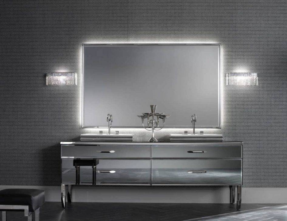 Bathroom : Led Bathroom Mirrors Large Illuminated Bathroom Mirror Regarding Large Illuminated Mirrors (#7 of 30)