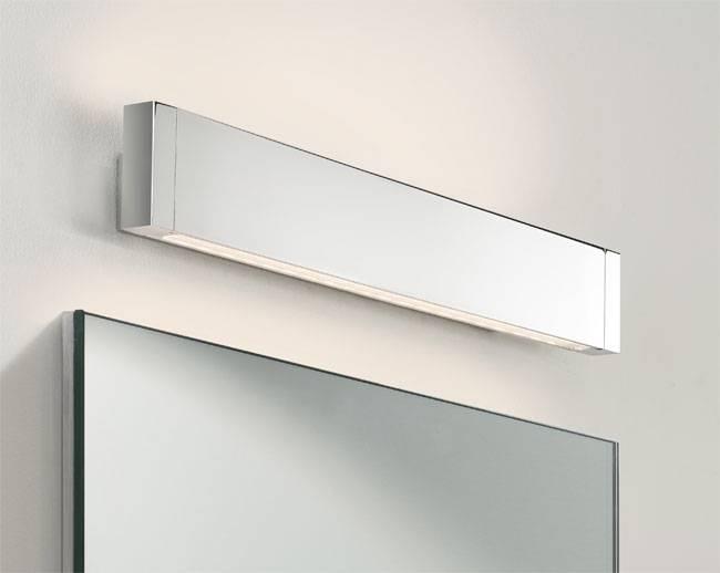 Bathroom Led Light Mirror Endon Lighting Kalamos Illuminated Led With Regard To Wall Light Mirrors (#10 of 30)