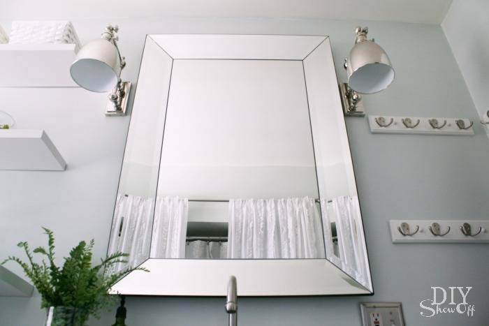 Bathroom Makeover – Diy Show Off ™ – Diy Decorating And Home For Bevelled Bathroom Mirrors (#5 of 20)