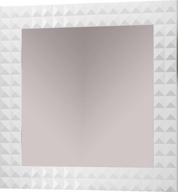Bathroom Mirror White With Regard To Contemporary White Mirrors (#4 of 15)