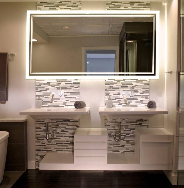 Bathroom Mirrors Contemporary Design Ideas | All Contemporary Design Throughout Modern Contemporary Mirrors (#5 of 30)
