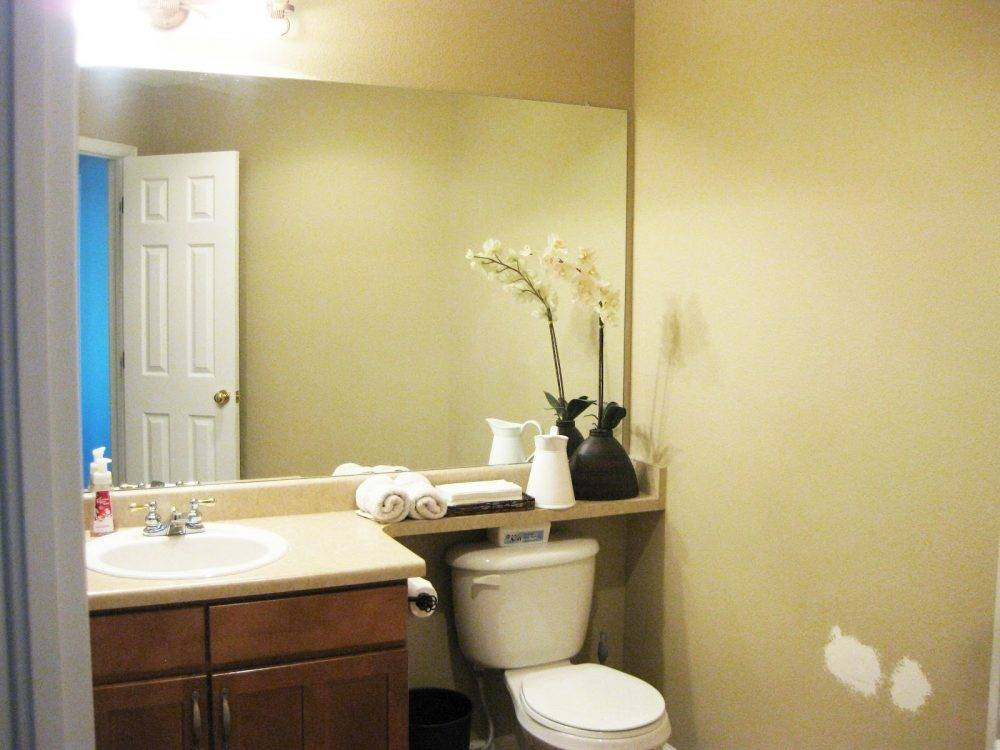 Bathroom Mirrors Ideas With Vanity Large Mirror And Lights Soul With Large Frameless Bathroom Mirrors (#8 of 30)