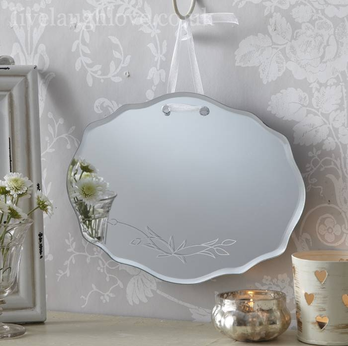 Bathroom Mirrors Shabby Chic – Healthydetroiter Throughout Shabby Chic White Mirrors (#10 of 30)