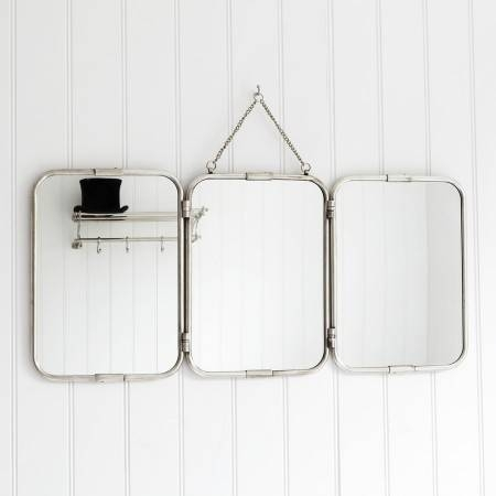 Bathroom Mirrors Tri Fold – Healthydetroiter Inside Triple Wall Mirrors (#8 of 30)