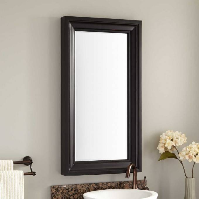 victorian style mirrors for bathrooms 30 collection of black style mirrors 24489