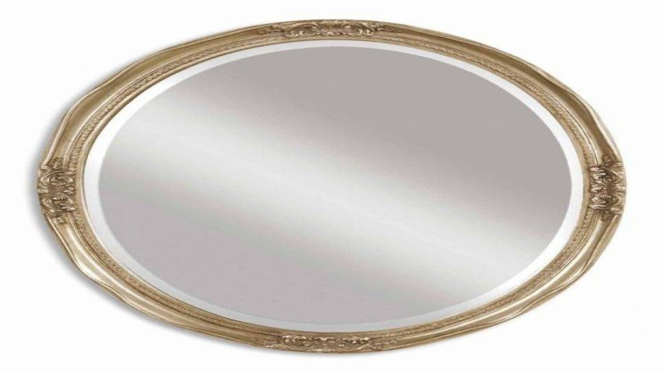 Bathroom : Silver Oval Bathroom Mirrors Silver Oval Wall Mirror With Regard To Silver Oval Wall Mirrors (View 8 of 20)