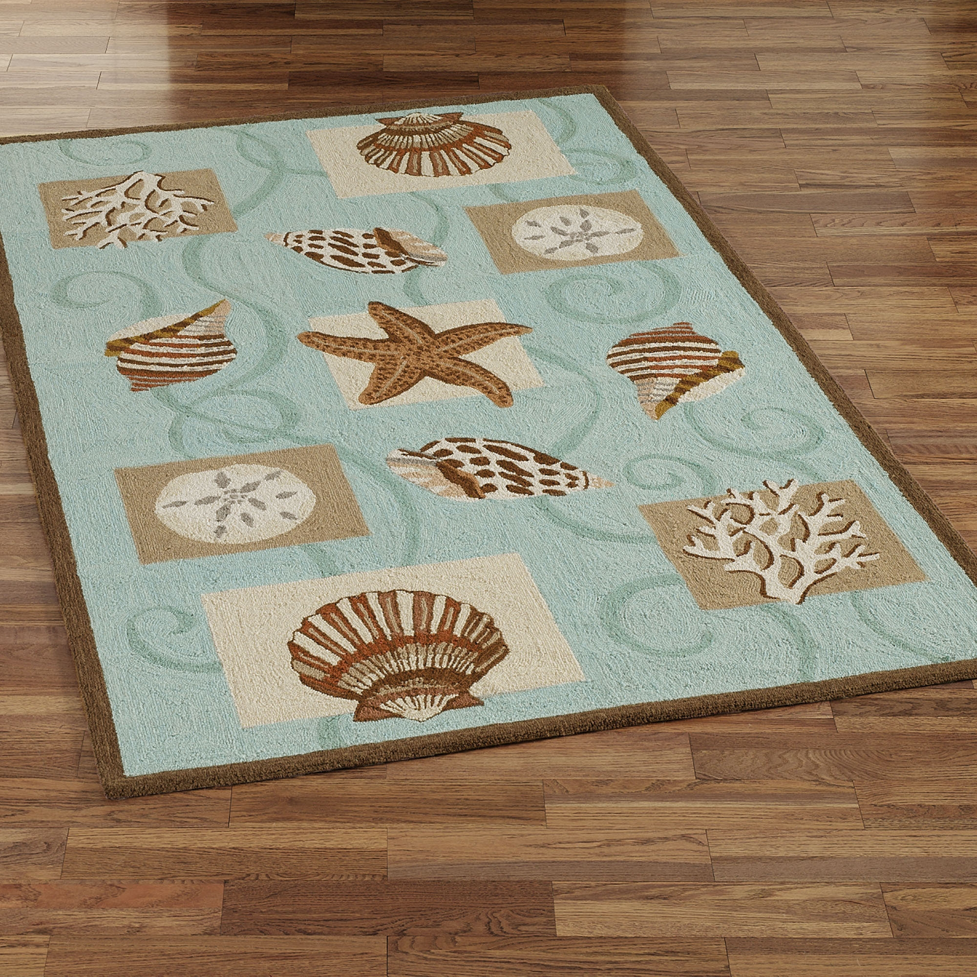 Collection Of Rug Runners For Bathroom - Turquoise and brown bathroom rugs for bathroom decorating ideas