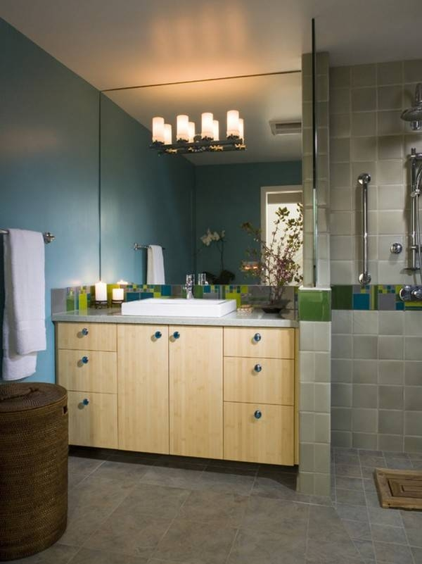 Beautiful Frameless Bathroom Vanity Mirrors Best Modern To Within Large Square Mirrors (#6 of 30)
