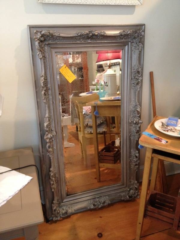 Beautiful Large Antique Mirror – Simply Vintage Of Cape Cod In Large Antiqued Mirrors (#13 of 20)