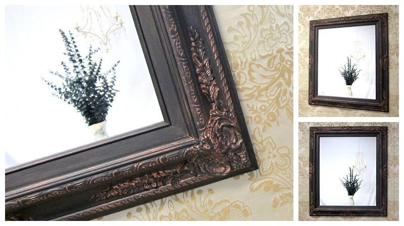 30 ideas of large bronze mirrors - Oil rubbed bronze bathroom mirrors ...